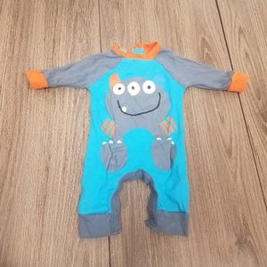 Gerber monster onsie NB